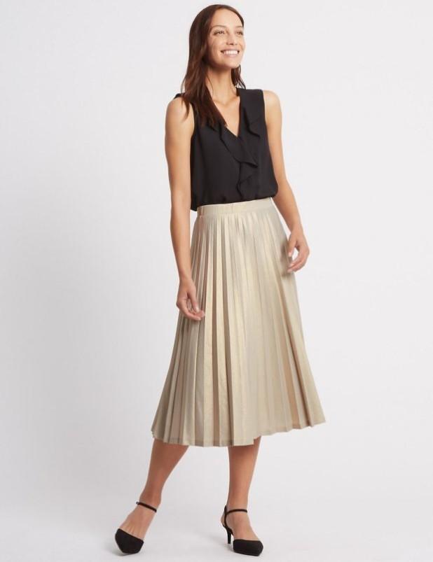 базовый гардероб 2018-2019: Модные юбки фото тенденции