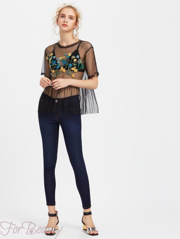 Модные джинсы в базовом гардеробе 2018 фото тенденции