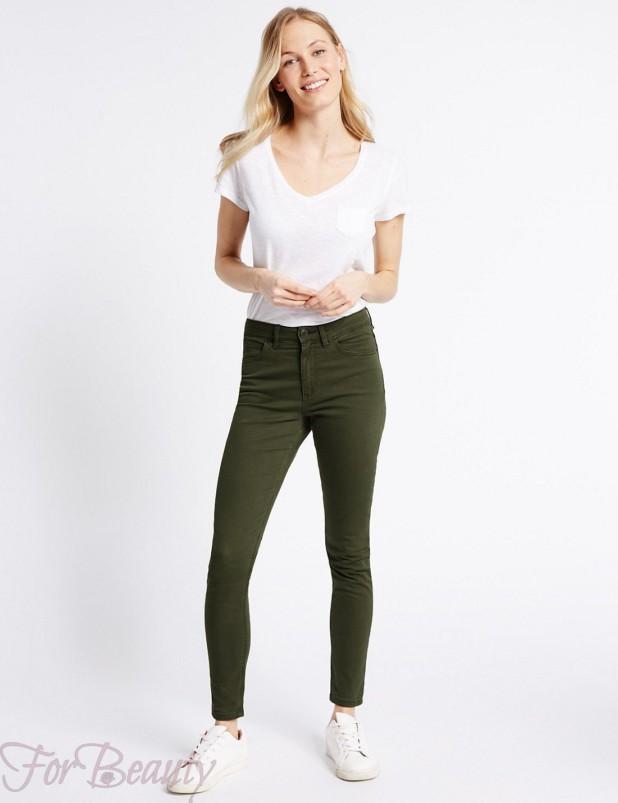 Модные джинсы в базовом гардеробе 2018 фото