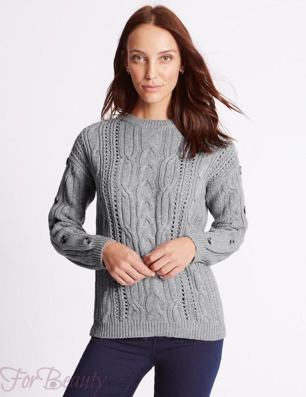 Модные свитера в базовом гардеробе 2018 фото тенденции