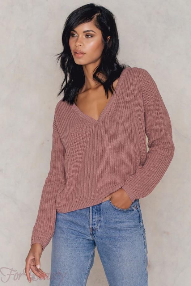 стильные свитера в базовом гардеробе 2018 фото