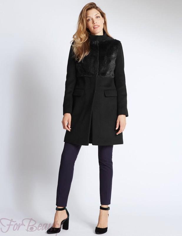 Модные пальто в базовом гардеробе 2018 фото тенденции