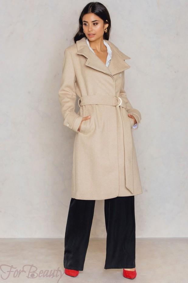 Модные пальто в базовом гардеробе 2018