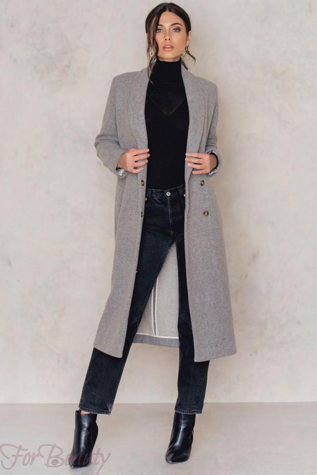 стильные пальто в базовом гардеробе 2018 фото