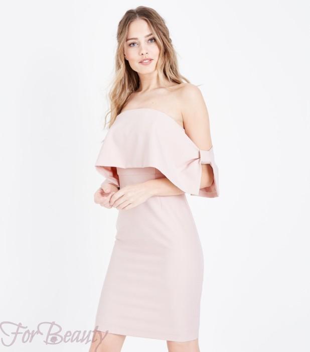 Модное розовое платье в базовом гардеробе 2018