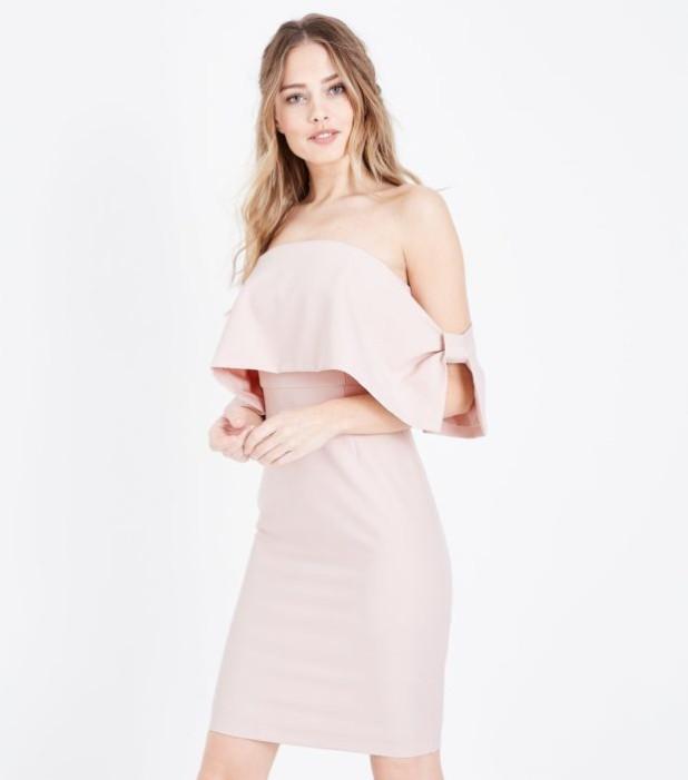 Модное розовое платье в базовом гардеробе 2018-2019