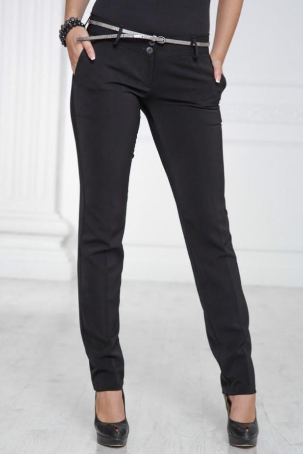 базовый гардероб 2018-2019: Модные черные брюки-дудочки