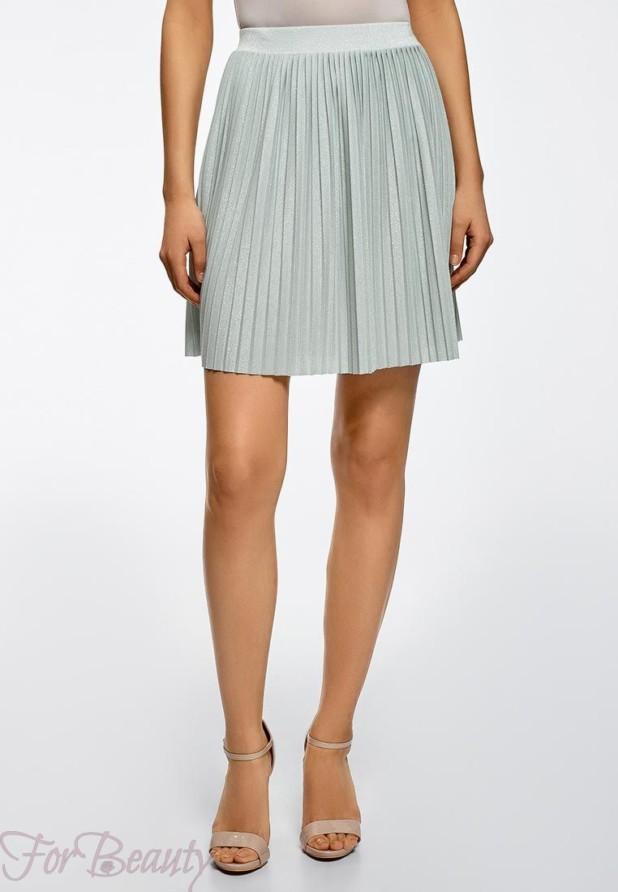 Модная серая юбка в базовом гардеробе 2018