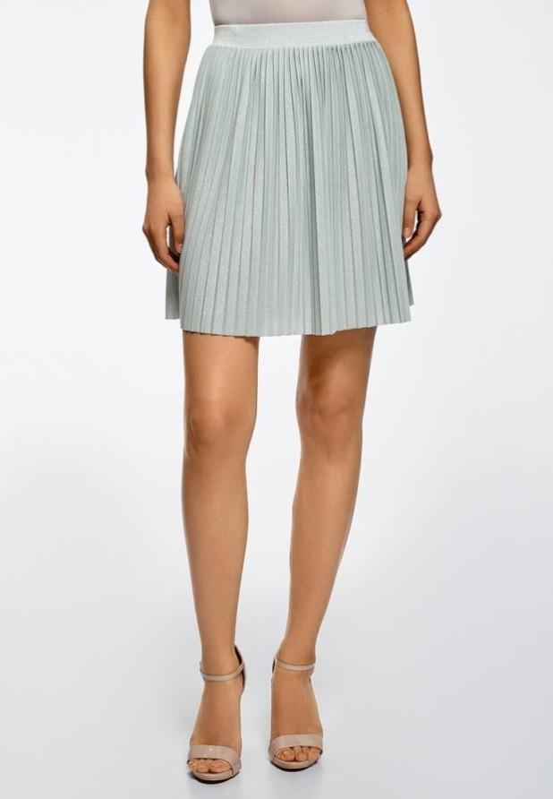 базовый гардероб 2018-2019: Модная серая юбка