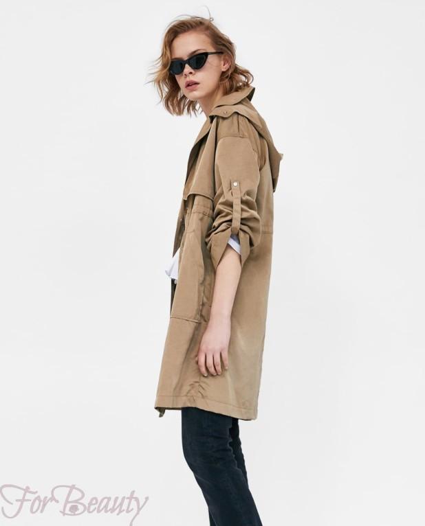 Модное бежевое пальто в базовом гардеробе 2018