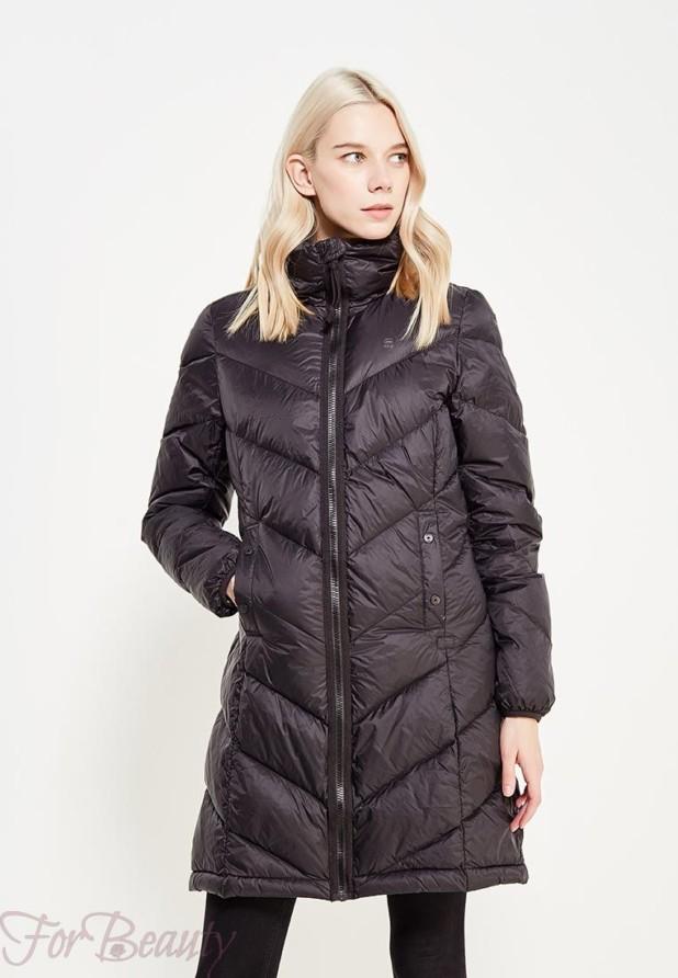 Модный черный пуховик в базовом гардеробе 2018