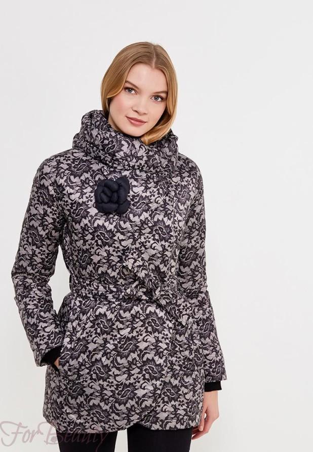 Модный черный с белым пуховик в базовом гардеробе 2018