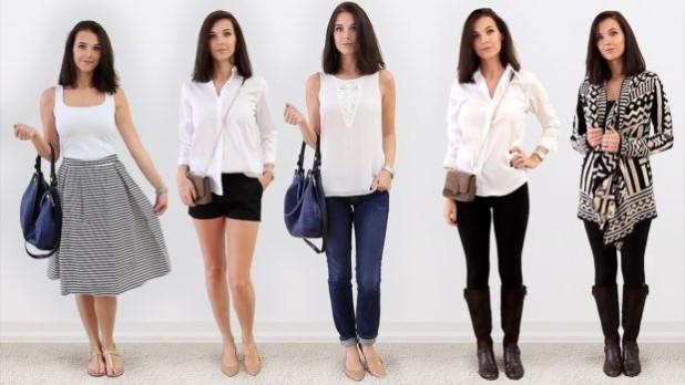Базовый гардероб 2018-2019 для женщин и девушек