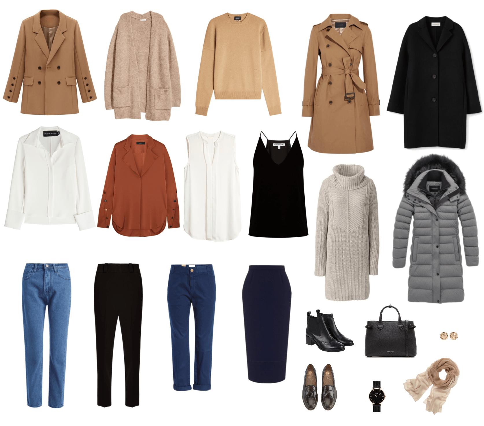 Джинсы для базового гардероба подбираются исключительно индивидуально – в зависимости от того, какие джинсы хорошо сидят на вашей фигуре.