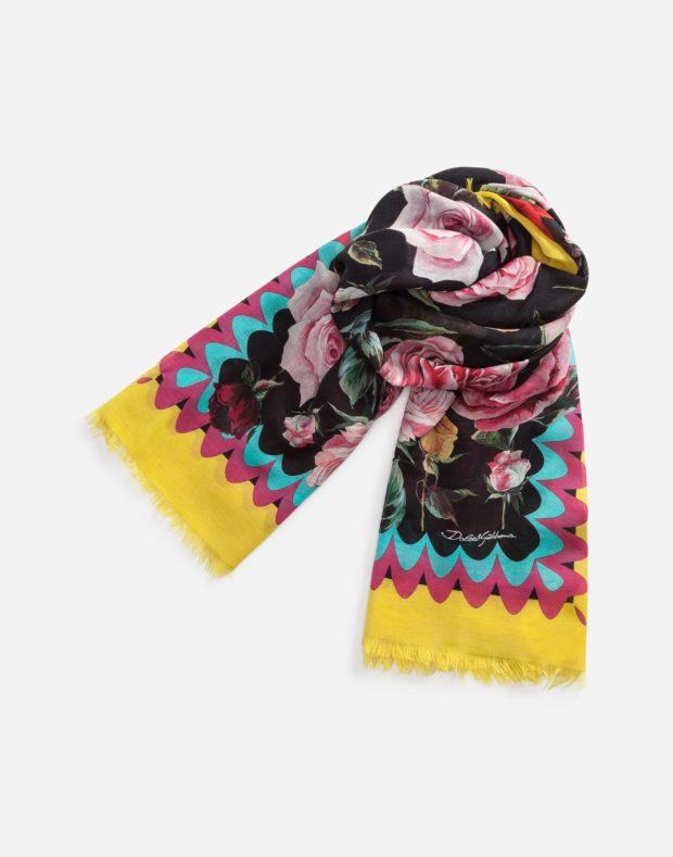 C каким шарфом носить пальто