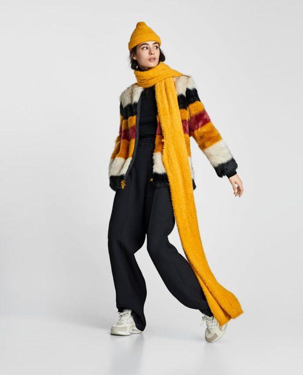 C каким шарфом носят пальто
