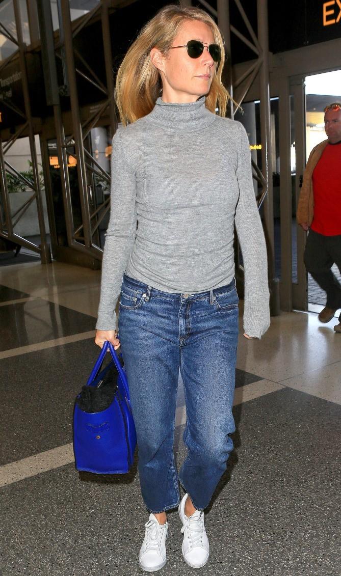 Как носить кроссовки с джинсами бойфрендами фото