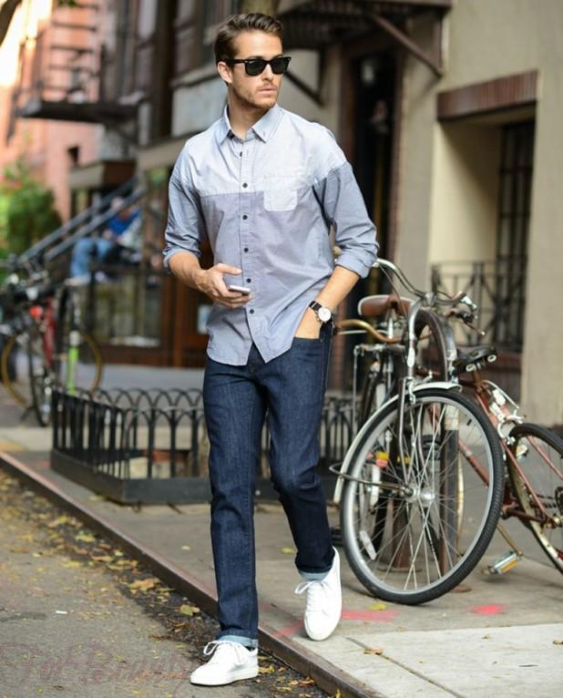 b247c059 Как носить кроссовки с джинсами фото женщинам и мужчинам