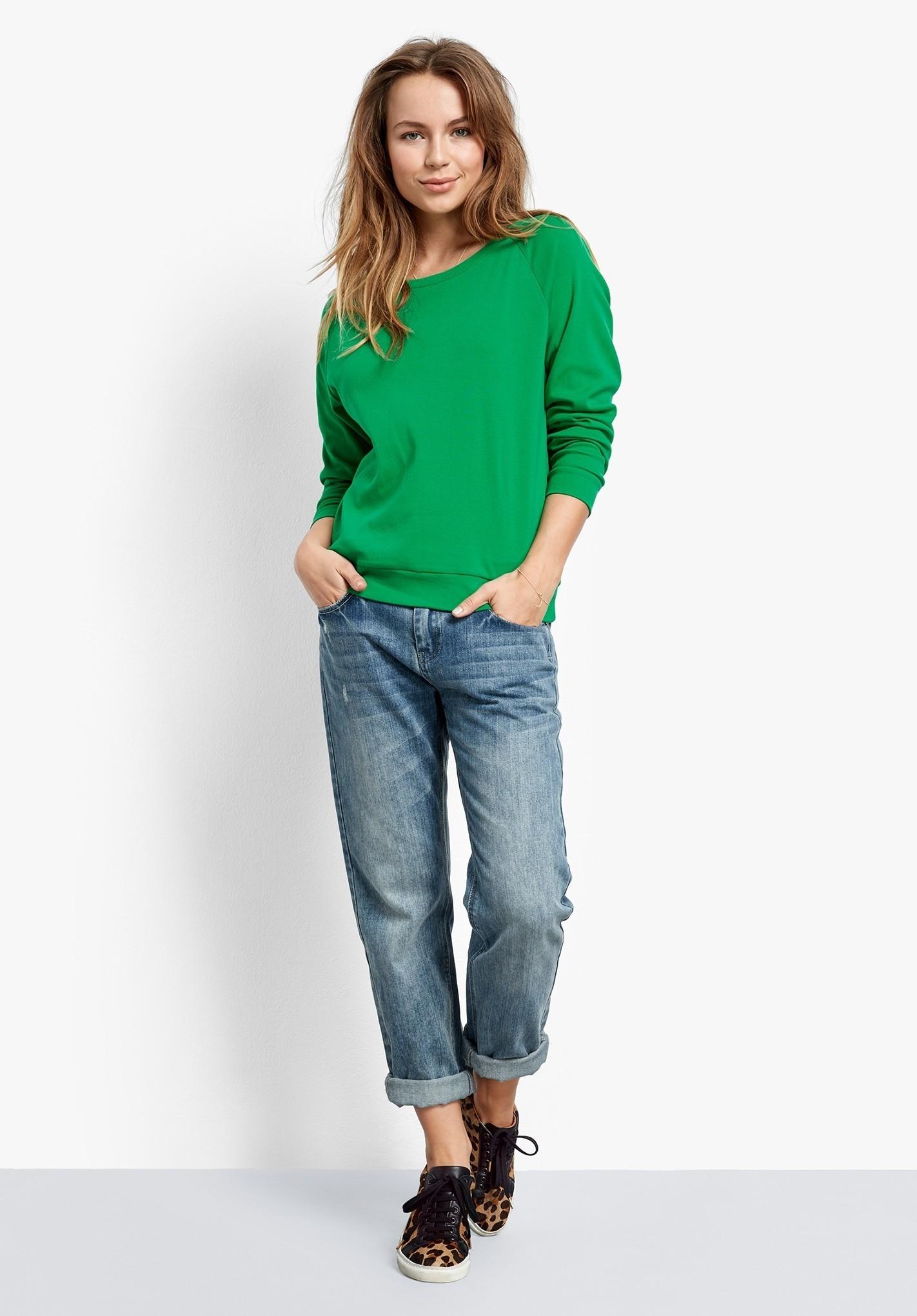 кроссовки с джинсами бойфрендами
