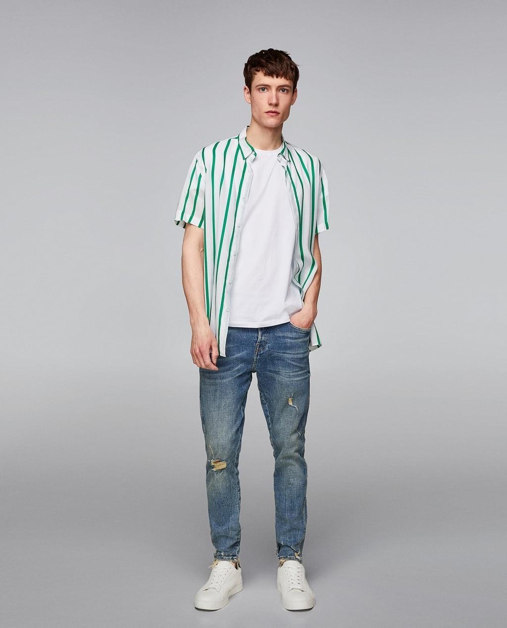 кроссовки с джинсами мужчинам