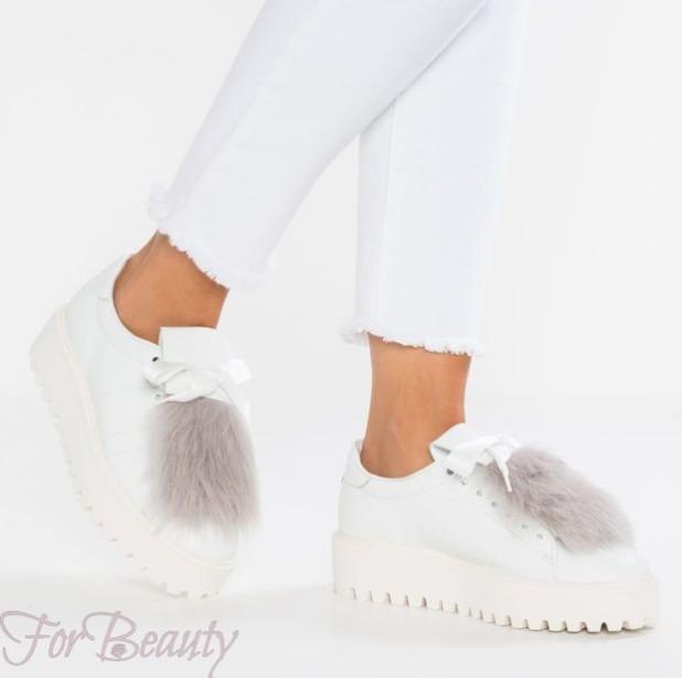 женские кроссовки 2018 с мехом