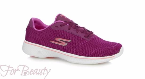 Модные фиолетовые женские кроссовки 2018 фото