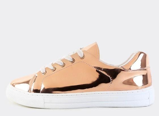 женские кроссовки металлических оттенков 2018 фото