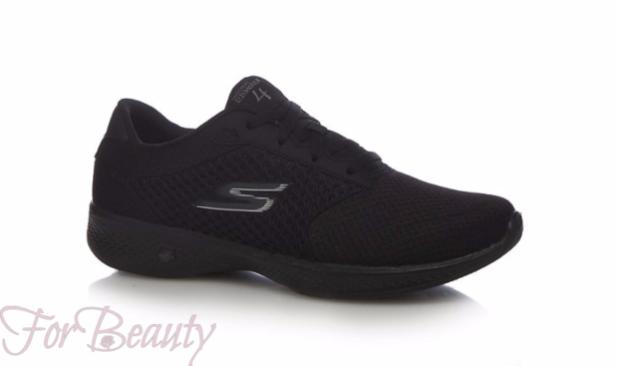 Модный цвет женских кроссовок 2018 фото черный