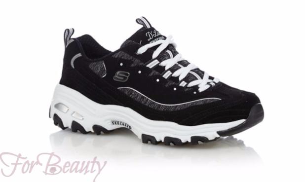 Модные черные женские кроссовки 2018 фото