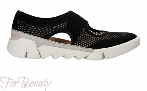 стильные черные женские кроссовки 2018-2019