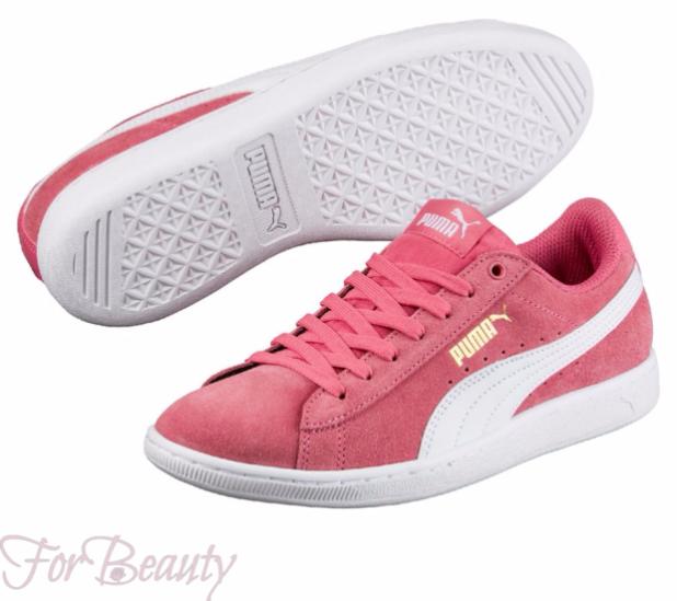 Модные розовые женские кроссовки 2018 фото