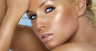 Модный макияж сияние кожи лето 2018