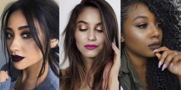 Модный макияж 2019 с коричневыми оттенками