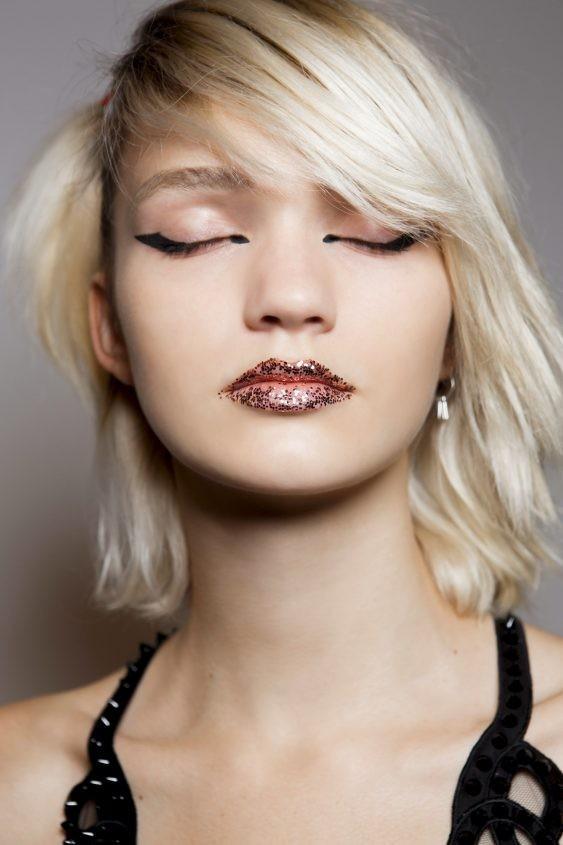 летний макияжглиттер