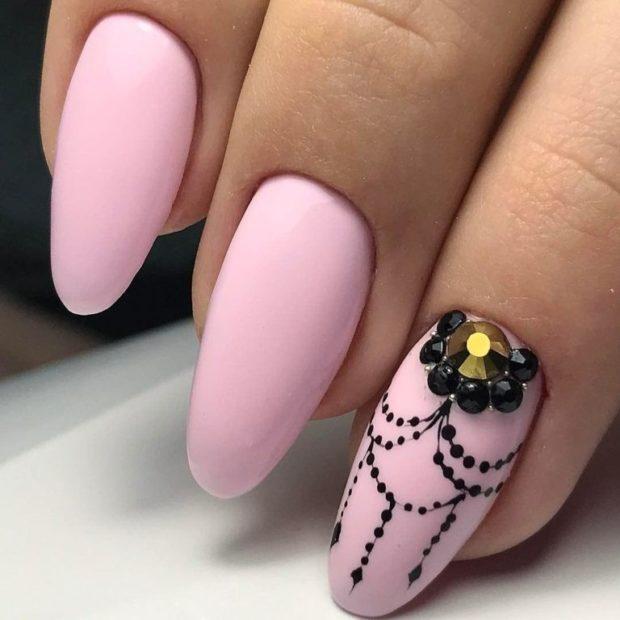 форма ногтей капелька
