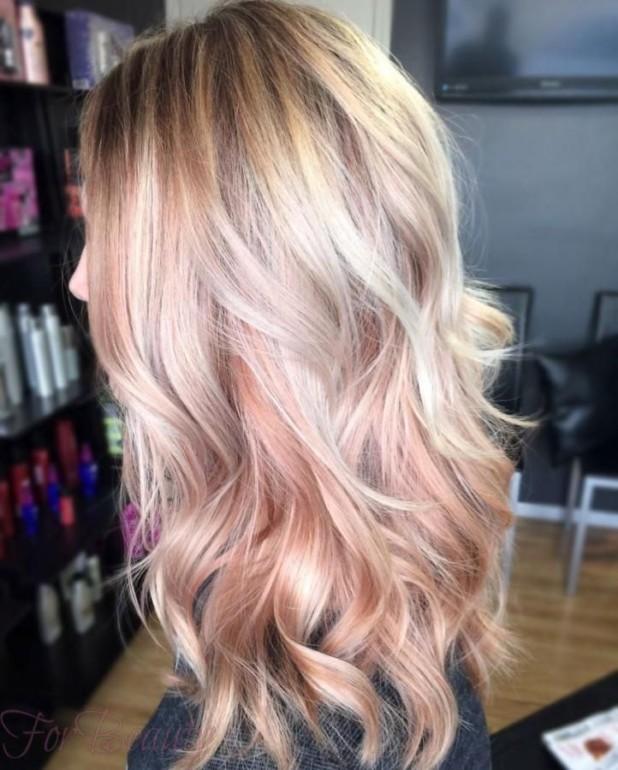 Блондирование на тёмные волосы мода 2017