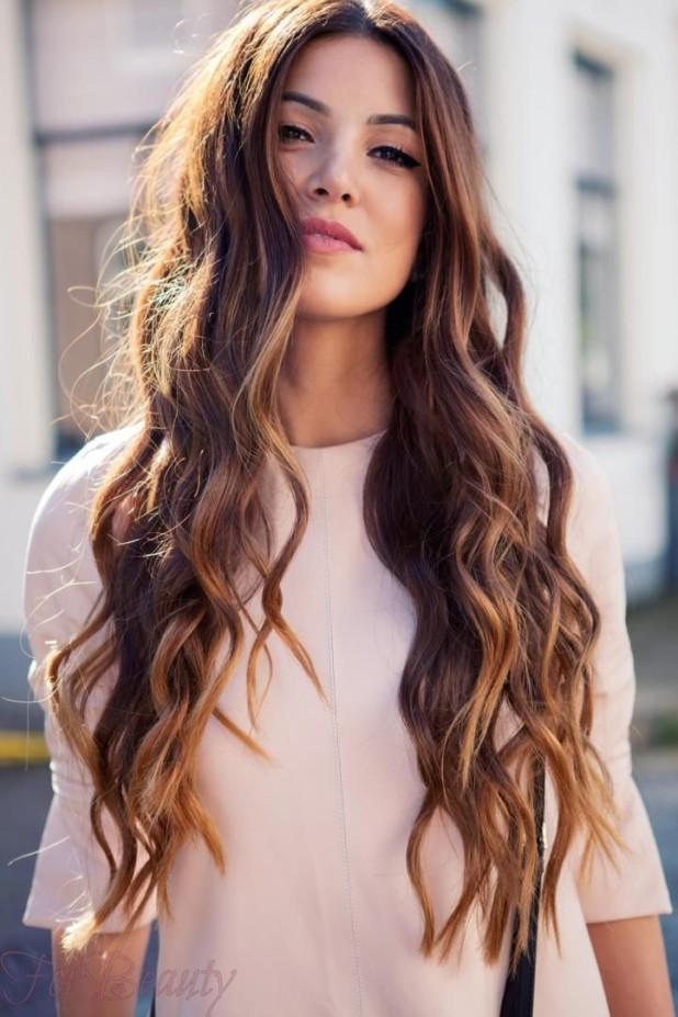 Распространенные способымелированиятемных волос