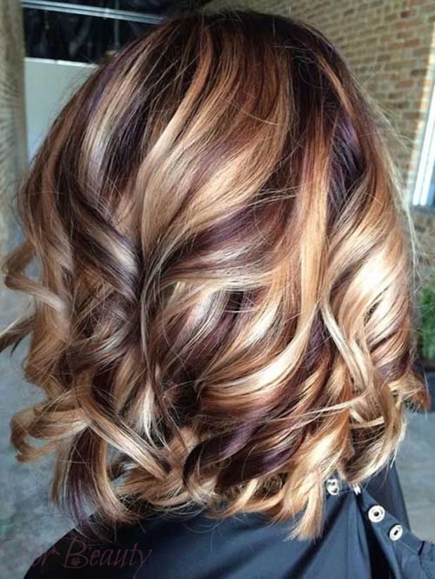Мелирование волос 2018