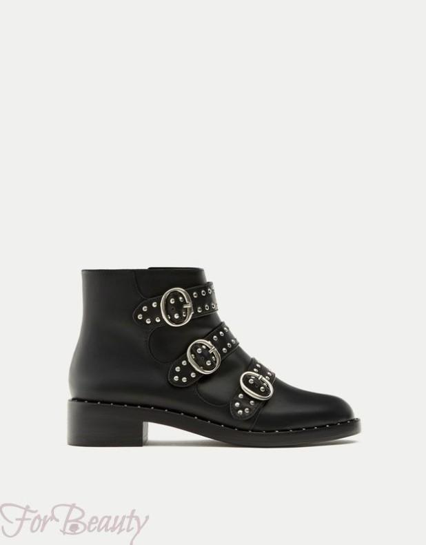 Женская обувь с пряжками 2018