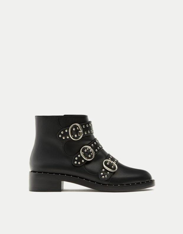 Женская обувь с пряжками 2018-2019