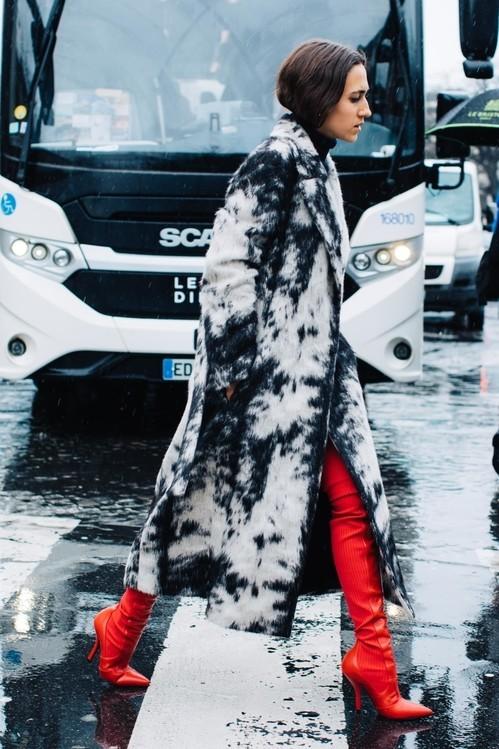 Модные цветные сапоги 2018 фото новинки