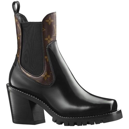 Модная обувь с толстыми каблуками 2018 фото новинки