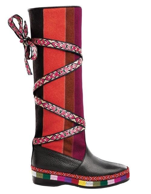 Модная обувь со шнурками и плетениями 2020 фото новинки