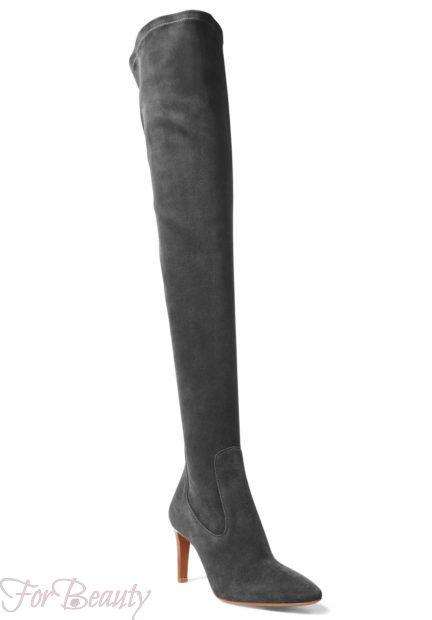 Модная замшевая обувь 2018 фото новинки сапоги