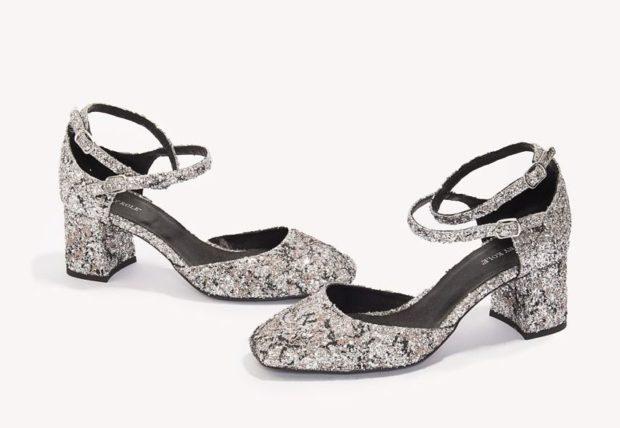 Женская модная обувь с пряжками 2018-2019 фото