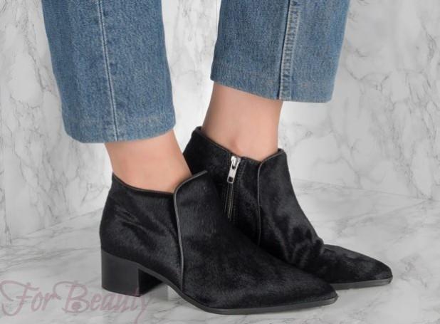 женская обувь из меха