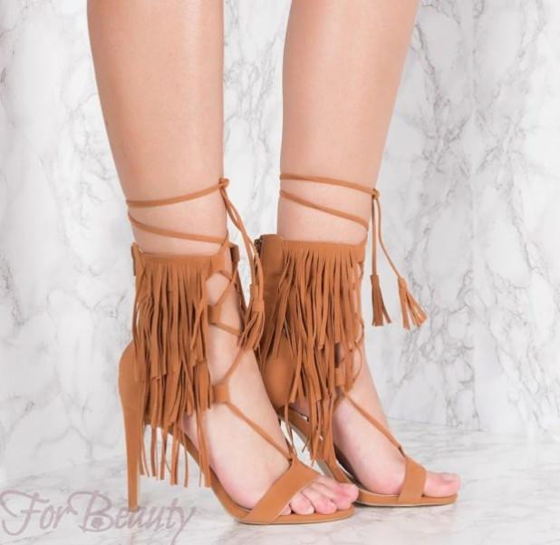 Женская стильная обувь со шнуровкой 2018 фото