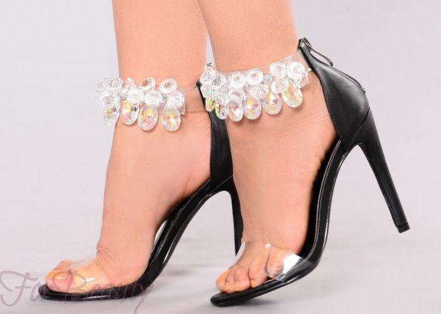 Женская обувь украшенная бусинами 2018-2019 фото