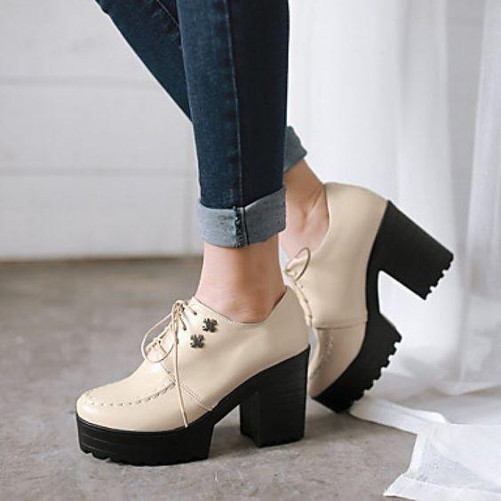 туфли на рефленой подошве