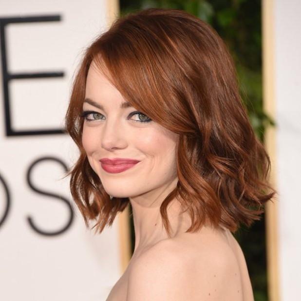 покраска для рыжих волос 2018-2019 на средние волосы